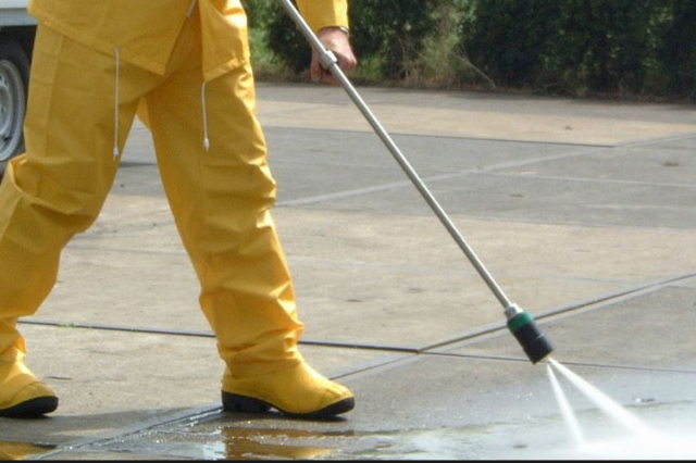 full safety for water blasting